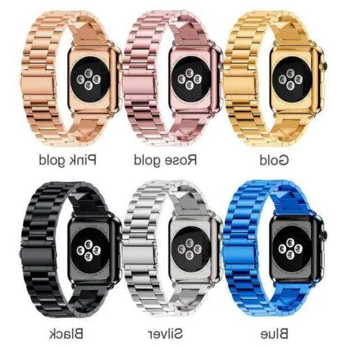 For Apple 3/2/1 Steel iWatch US
