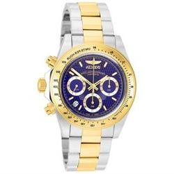 Invicta Men's Signature 7115 Silver/Gold/Blue/Stainless Stee