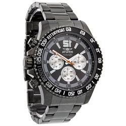 Invicta Signature II Divers Chronograph Black Dial Mens Watc