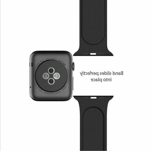 Silicone Band Strap Sports Bands Apple Watch iWatch 2 3