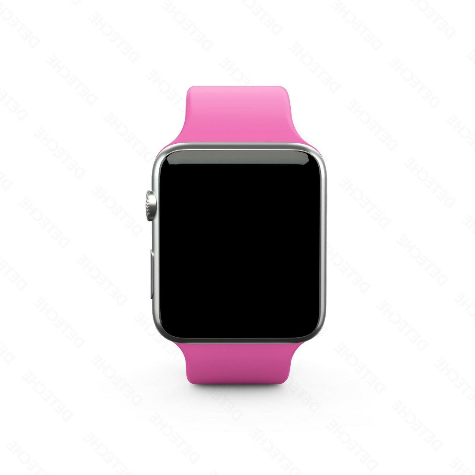 Silicone Strap for Apple iWatch Sports