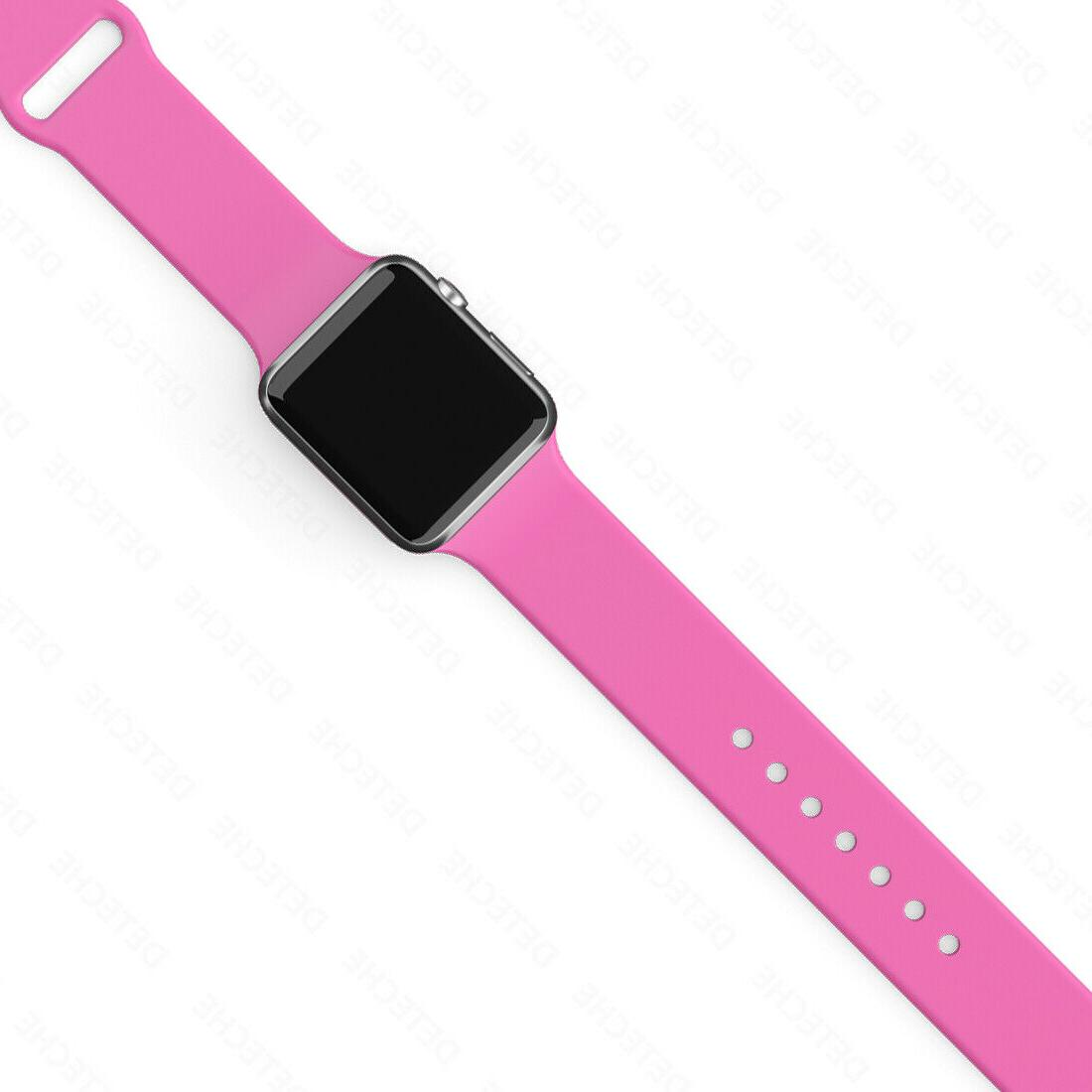 Silicone Apple 1/2/3/4/5 iWatch