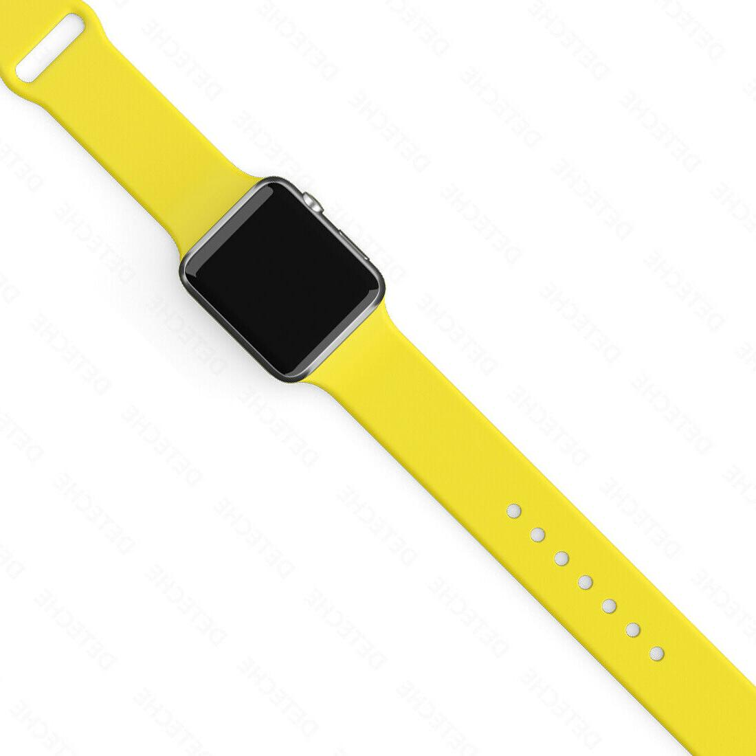 Silicone Band Apple Watch Series 1/2/3/4/5 iWatch Sports