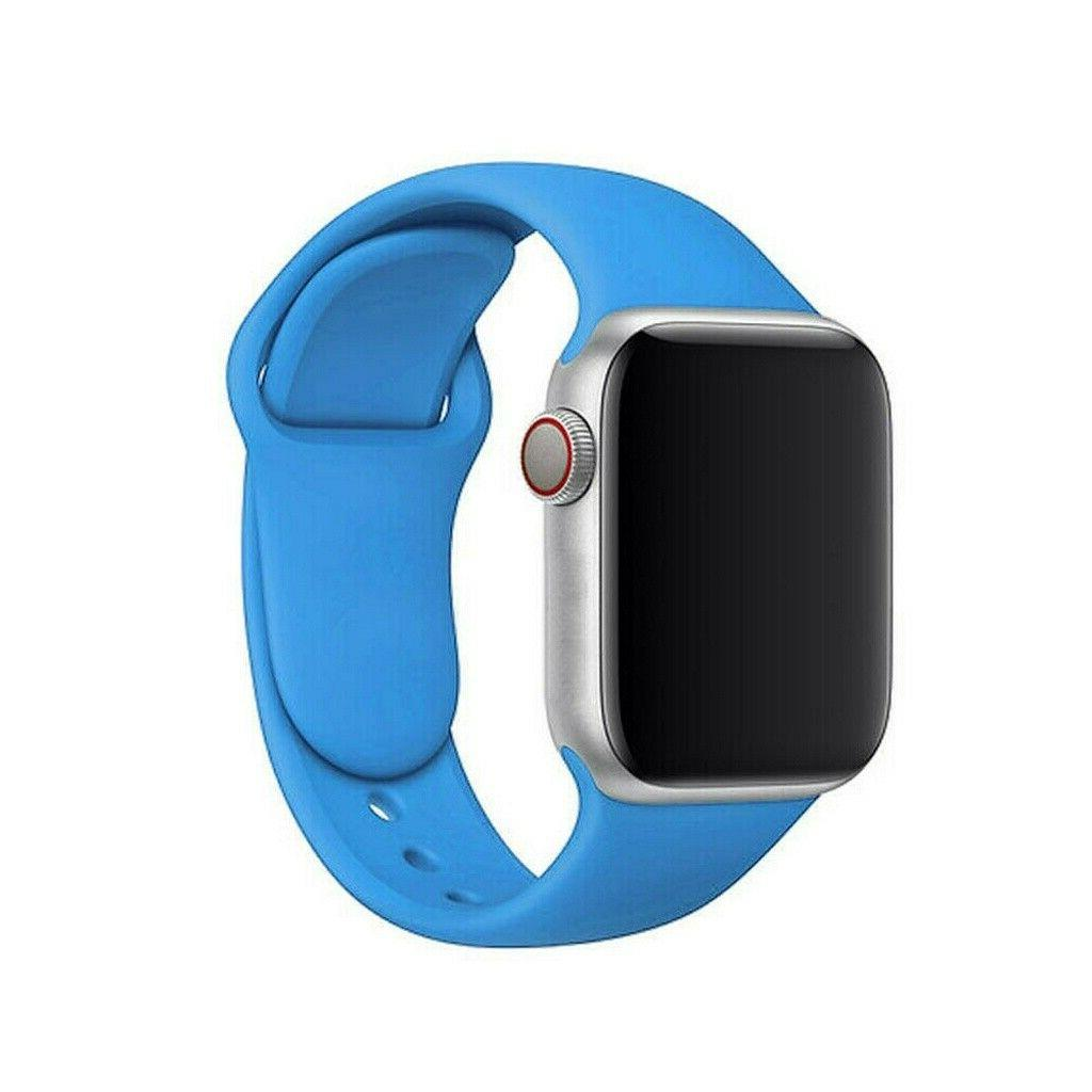 Silicone Nylon Bracelet Band Strap Sports For Apple Watch 1/2/3/4