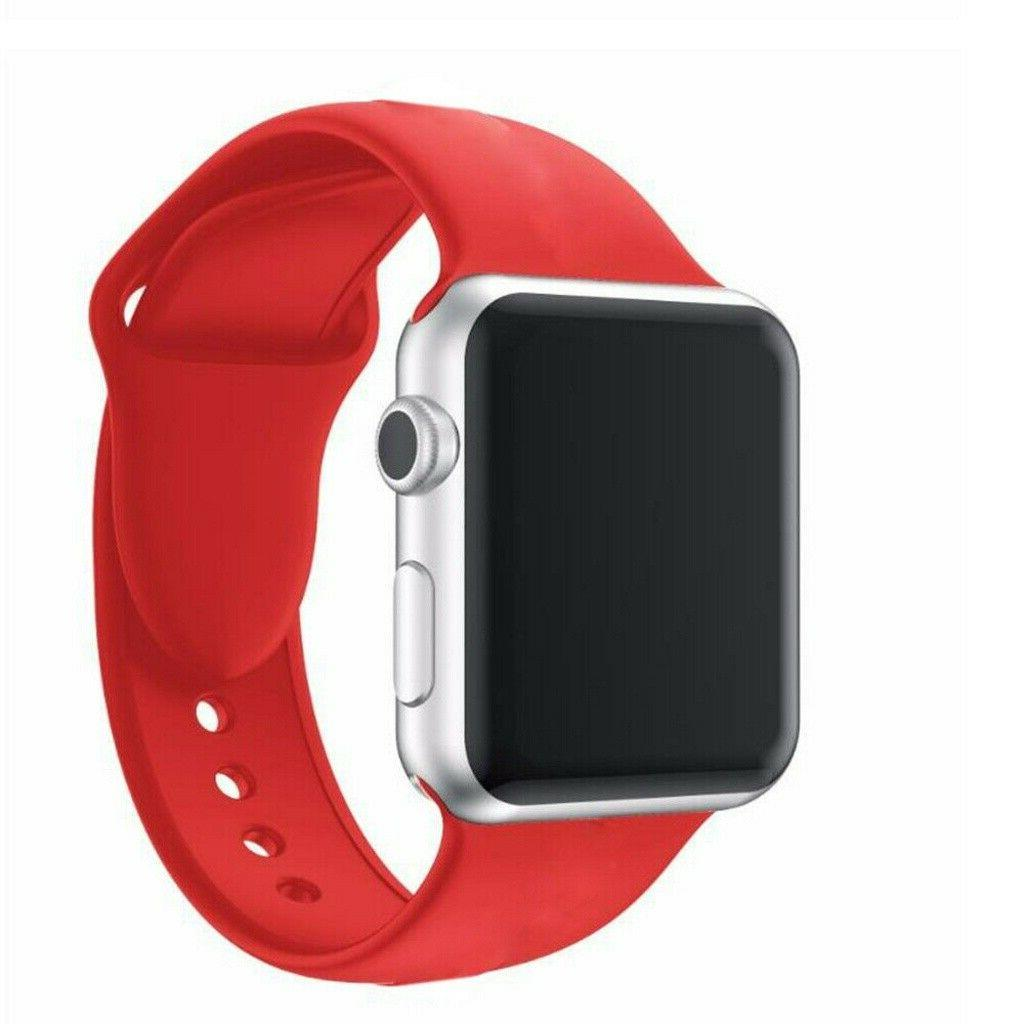 Silicone Strap Sports Bands For Apple Series