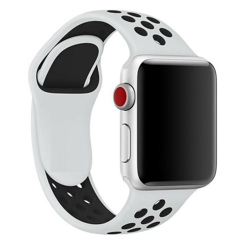 Silicone Watch Strap For Apple iWatch 4 3 1