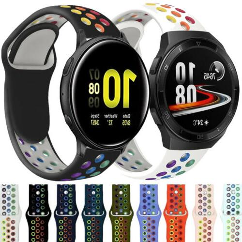 silicone sport watch band strap for samsung