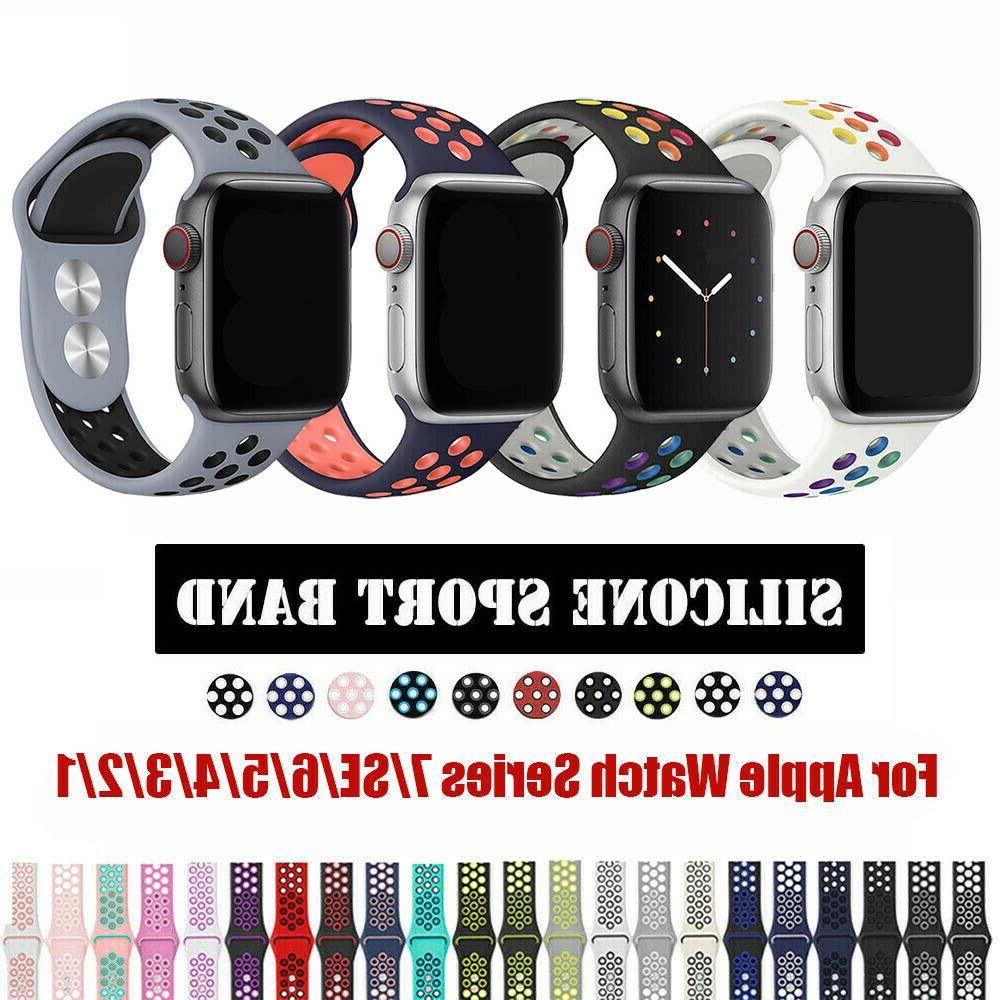 silicone sports iwatch band strap for apple