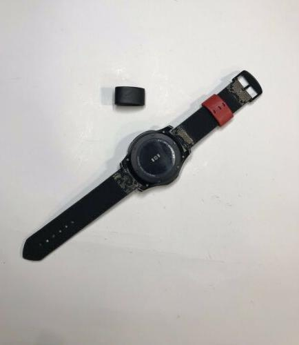 Samsung Band Luxury Black And Red