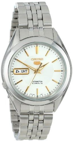snkl17 5 automatic silver dial