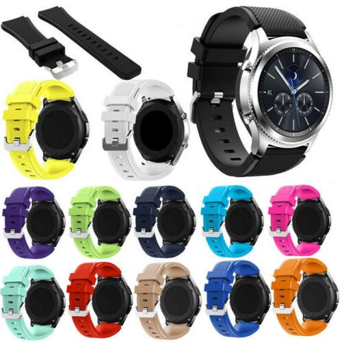 Soft Silicone Band Strap Gear S3 Watch