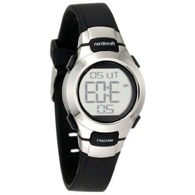 sport 457012blk chronograph stainless steel