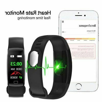 Sport Fitness Smart Band Heart Rate Blood Pressure Tracker Activity