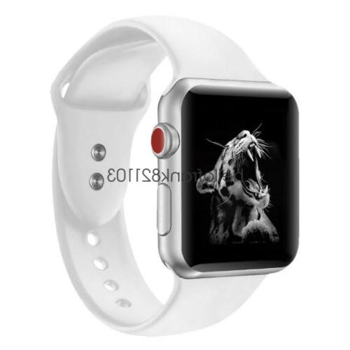 Sport Band Strap for Apple iWatch 4 3 44mm 42m