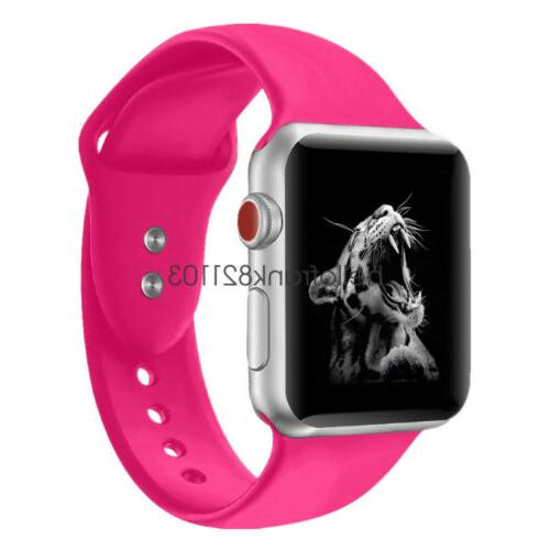 Sport Silicon Band Strap iWatch 5 3