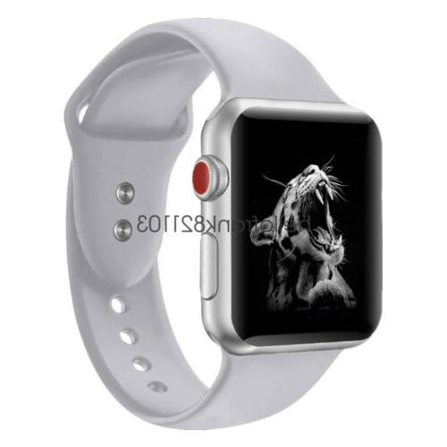 Sport Silicon Watch iWatch 40mm 42mm