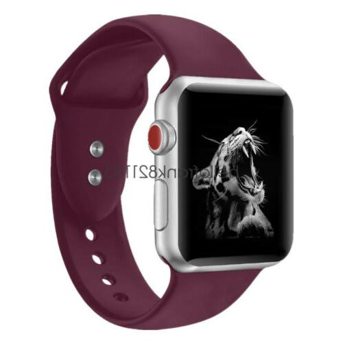 Sport Watch Strap Apple iWatch 4 40mm 44mm 42mm