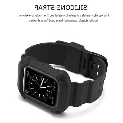 Silicone Band Bumper For Watch Series 1 3 38 /