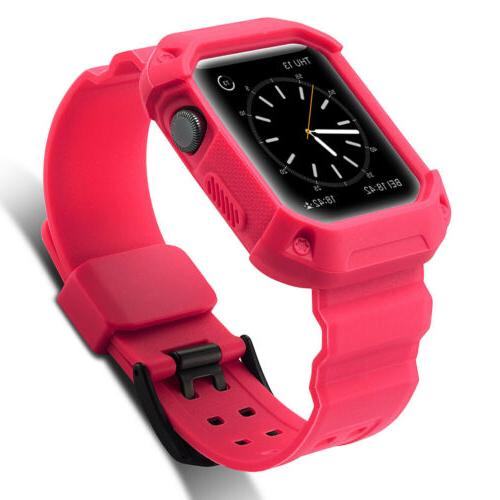 Sport with iWatch Case For Apple 1 2