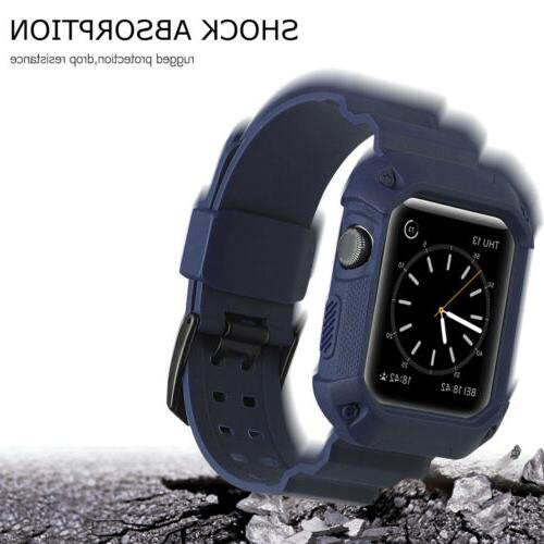 Sport Silicone with For Apple Watch 1