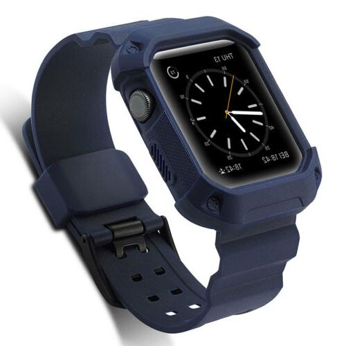 with Bumper Case For Apple Watch Series 1 3