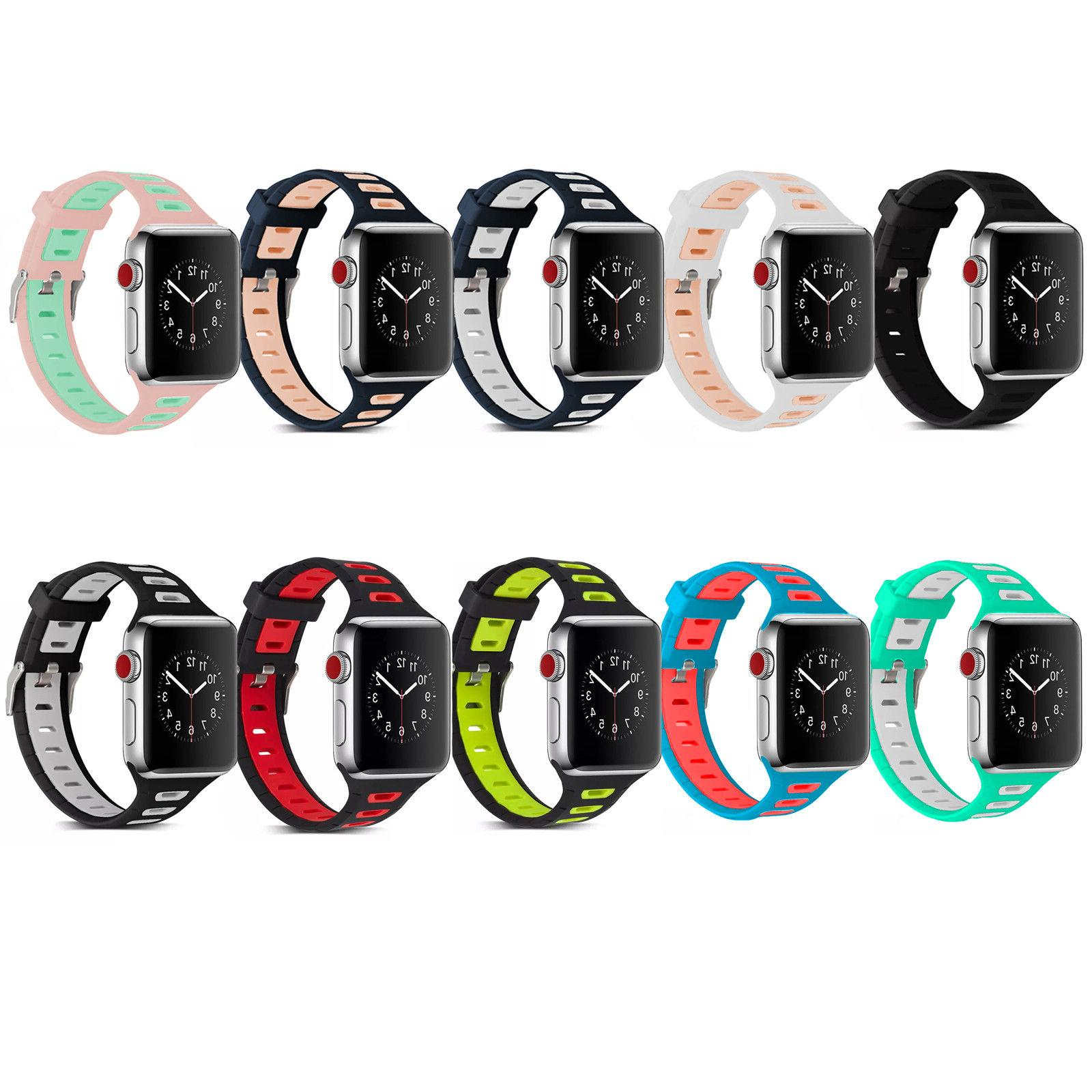Sports Band Strap Watch iWatch 38mm/42mm
