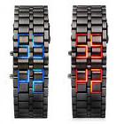 LED Digital Stainless Steal Men Women Wrist Watches Christma