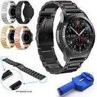 Stainless Steel Metal Watch Band Buckle For Samsung Gear S3
