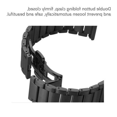 Stainless Steel Strap Watch Band Gear
