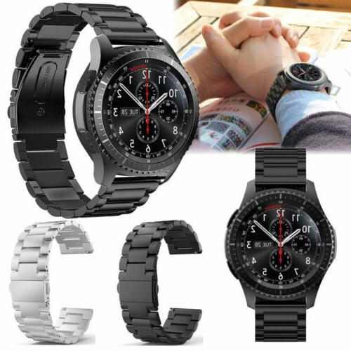 Stainless Steel Strap Watch Band For Samsung Galaxy Gear S3