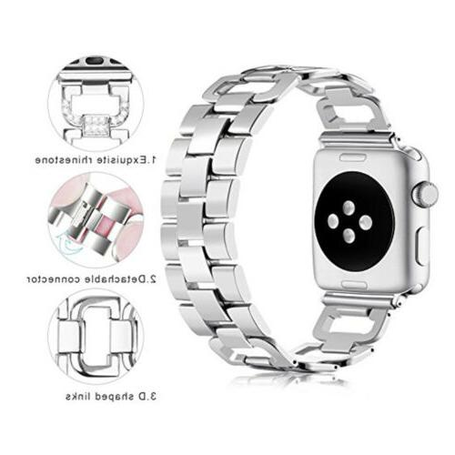Stainless Steel Watch Strap Apple iWatch