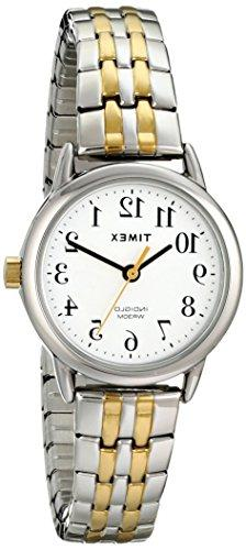 Timex Women's T2P298 Easy Reader Dress Two-Tone Stainless St