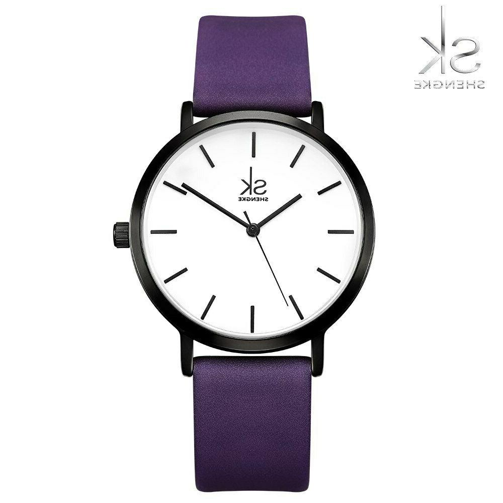 Top Casual Band Analog Woman Watch