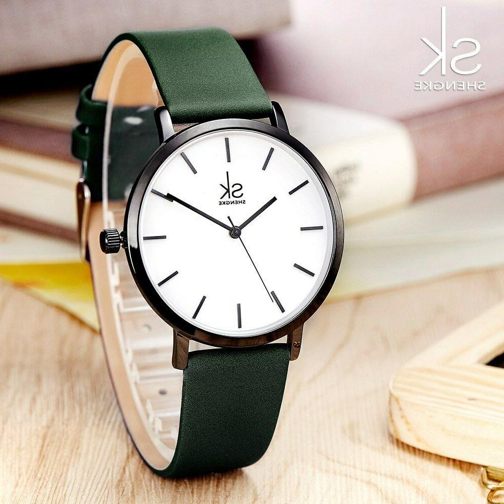 top brand watch women casual fashion leather