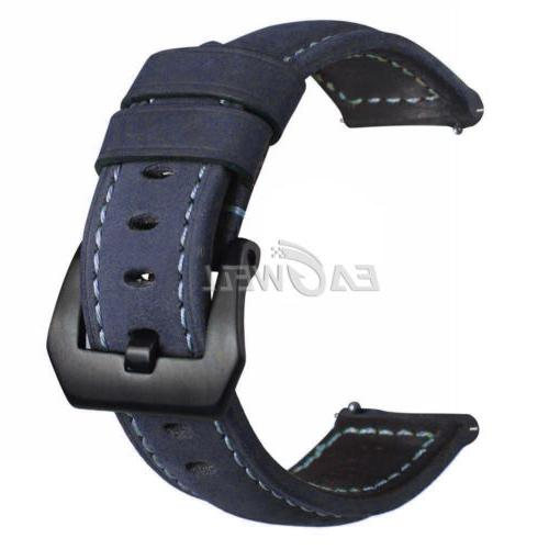 22mm Thick Genuine Leather Band Replacement Belt