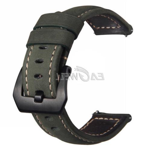 22mm Men Leather Replacement Belt