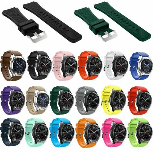 Soft Replacement Silicone Strap Bracelet Gear Frontier Watch