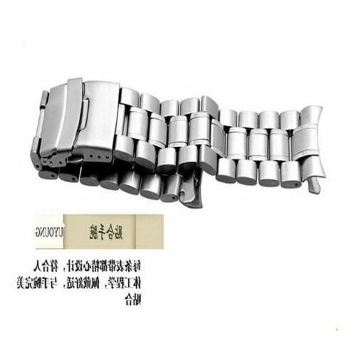 US Band Double-Lock Buckle Ends Link