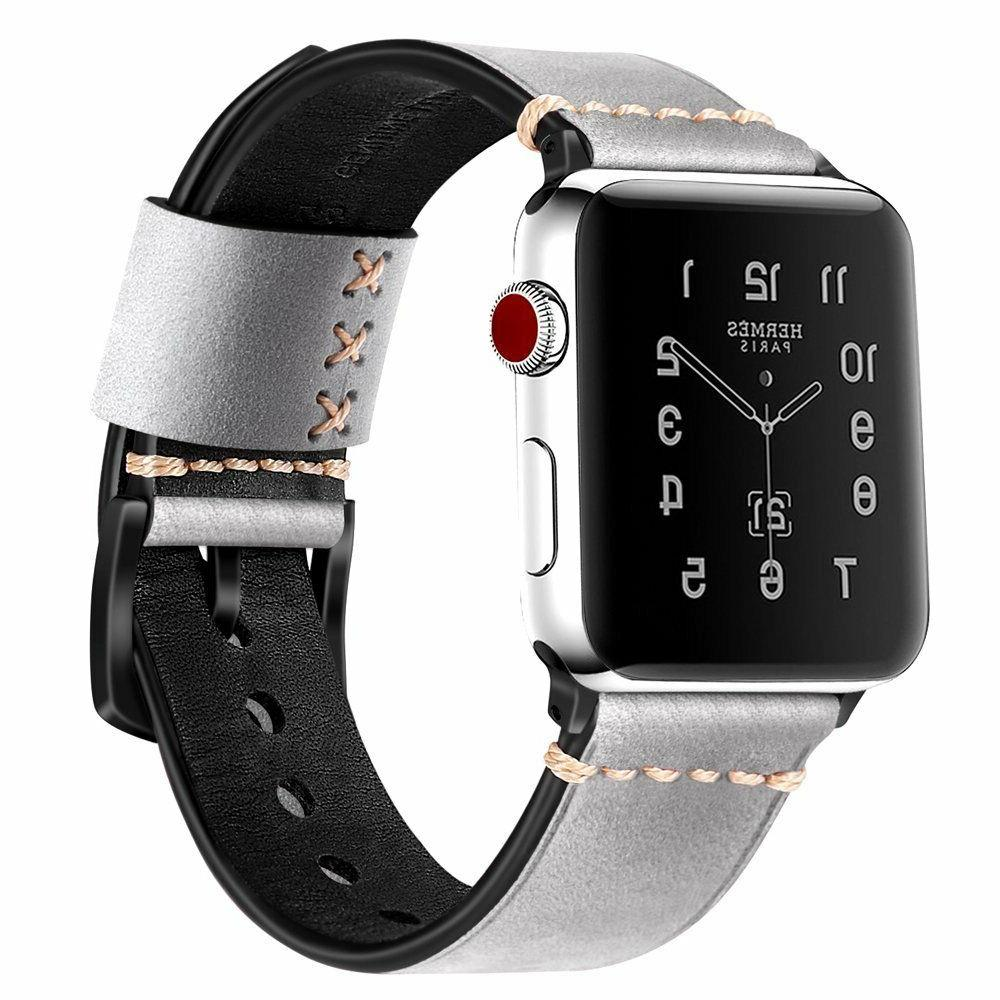 For Apple 38mm 3 2 1 Leather