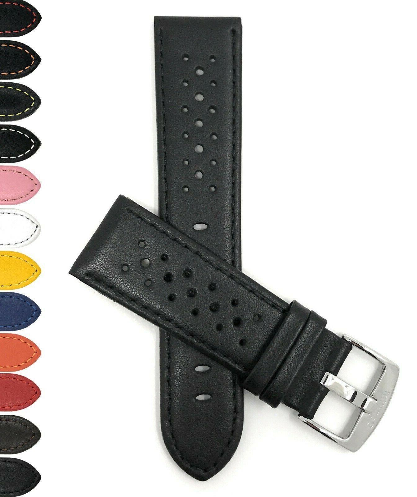 watch band leather gt rally strap 14