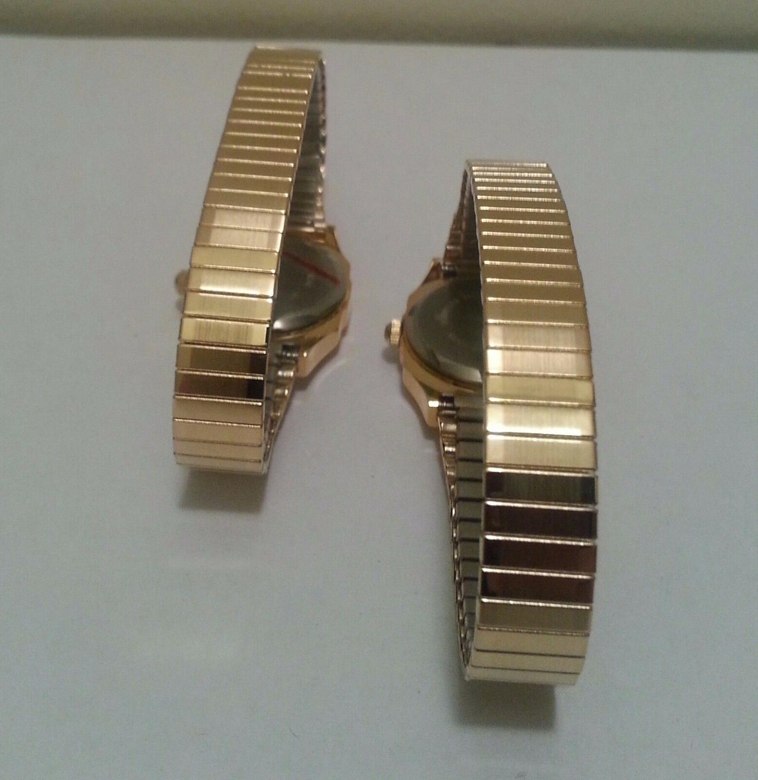Stainless Gold Easy Read Numbers Oval/ pc