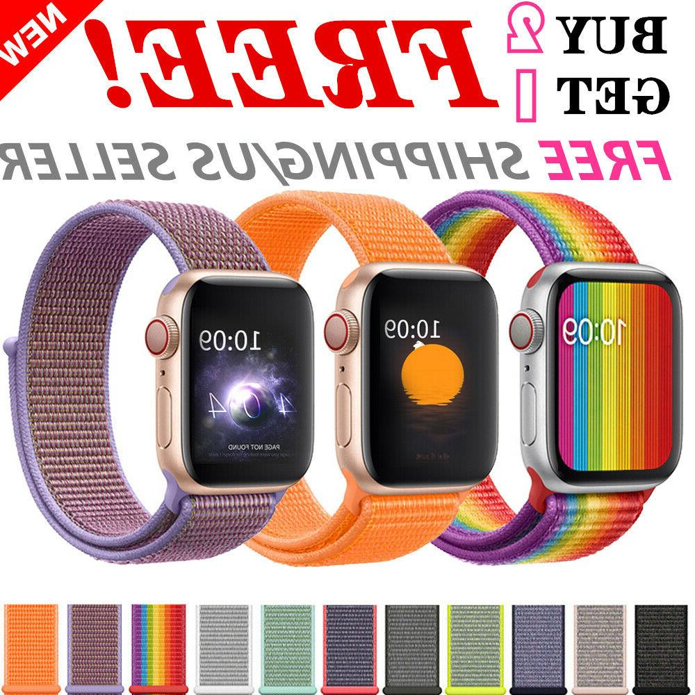woven nylon band for apple watch 38