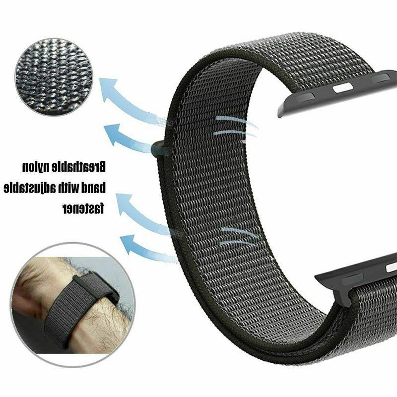 Woven Band Apple Loop iWatch 2 1 38,42,40, 44mm