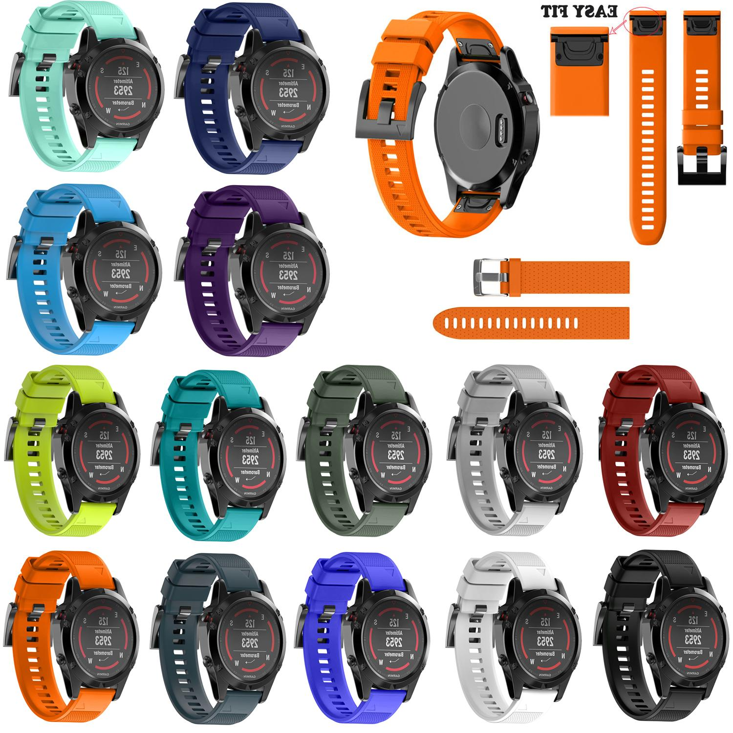 Wrist Watch Men 5/5X/5S Quick Replacement Band Soft Strap Fe