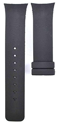 ZTD212 Fit for Nautica N13530G 28mm Black Rubber Silicone Wa