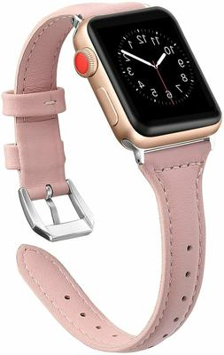 Leather Band For Apple Watch 42mm Replacement Strap Series 1