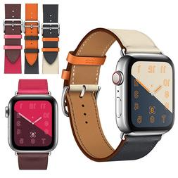 Leather Watch Band Herme Belt Single/Double Tour For Apple W