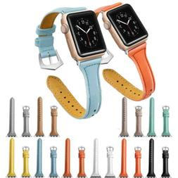 Leather Watch Band Strap Bracelet for iWatch Apple Watch Ser