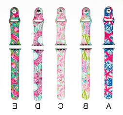 LILLY PRINTED PATTERN WATCH BAND LADIES 38mm & 42mm