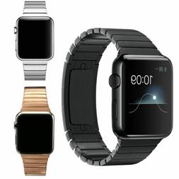 Link Bracelet Metal Band Strap For Apple Watch Series 5 4 3